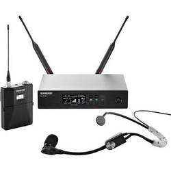 Shure QLXD14/SM35 Wireless Headworn Microphone System (G50: 470 to 534 MHz)