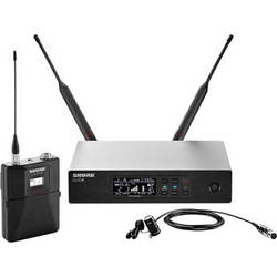 Shure QLXD14/84 Lavalier Wireless Microphone System (G50: 470 to 534 MHz)