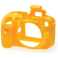 easyCover Silicone Protection Cover for Nikon D3300 / D3400 (Yellow)