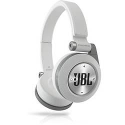JBL Synchros E40BT Bluetooth On-Ear Headphones (White)