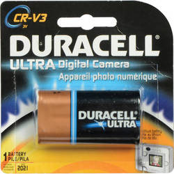 Duracell Ultra CR-V3 Lithium Manganese Dioxide Battery (3V, 1800mAh)