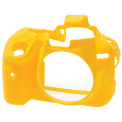 easyCover Silicone Protection Cover for Nikon D5300 (Yellow)