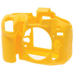 easyCover Silicone Protection Cover for Nikon D7100, D7200 (Yellow)