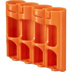 STORACELL SlimLine AA Battery Holder (Orange)