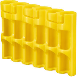 STORACELL SlimLine AAA Battery Holder (Yellow)