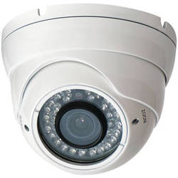 Speco Technologies VLEDT1H 960H Outdoor Turret Camera with Night Vision (White)