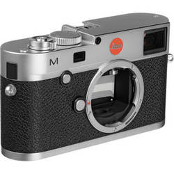 Leica M Digital Rangefinder Camera (Body Only, Silver)