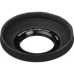General Brand 77mm Screw-In Rubber Wide Angle Lens Hood