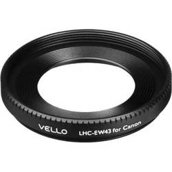 Vello EW-43 Dedicated Lens Hood (43mm Screw-On)