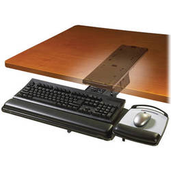 3M AKT101LE Adjustable Keyboard Tray with Lever-Adjust Arm