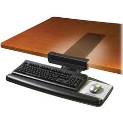 3M AKT65LE Adjustable Keyboard Tray with Knob-Adjust Arm