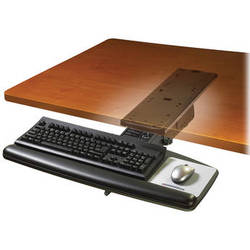 3M AKT71LE Adjustable Keyboard Tray with Lever-Adjust Arm