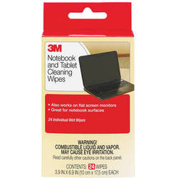 3M CL630 Notebook Screen Cleaning Wipes