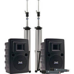 Anchor Audio Liberty Platinum Deluxe Dual PA Package with Bluetooth and Two Handheld Wireless Microphones