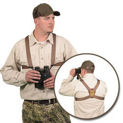 Crooked Horn Outfitters MagnumBino-System Binocular Harness (Brown)