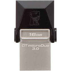 Kingston 16 DataTraveler microDuo USB 3.0 Flash Drive
