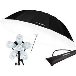 Westcott 1200W Spiderlite TD6 7' Parabolic Umbrella Kit (220VAC)