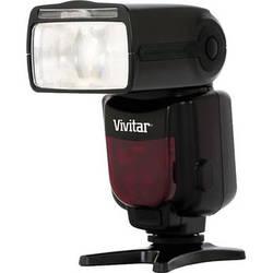 Vivitar DF-683 Radio Wireless TTL Power Zoom Flash for Nikon Cameras
