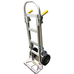 Wesco Spartan Jr. Economy Aluminum 2-in-1 Hand Truck (Assembled)