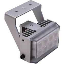 Iluminar WL105 Series Short-Range White Light Illuminator (36', 100° x 50°, Silver)