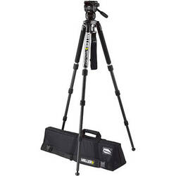 Miller Compass 12 Solo 75 3-Stage Carbon Fiber Tripod System