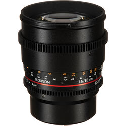 Rokinon 85mm T1.5 Cine DS Lens for Micro Four Thirds Mount