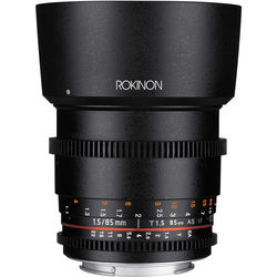 Rokinon 85mm T1.5 Cine DS Lens for Canon EF Mount
