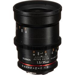 Rokinon 35mm T1.5 Cine DS Lens for Nikon F Mount