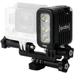 Qudos Action Waterproof Video Light for GoPro HERO by Knog (Black)