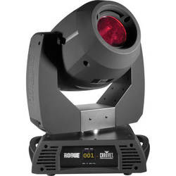 CHAUVET Rogue R2 Spot Moving Head LED Light Fixtures with Road Case (2-Pack)