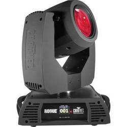 CHAUVET Rogue R2 Beam Moving Head Light Fixtures with Road Case (2-Pack)