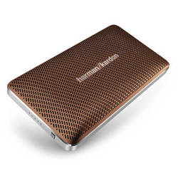Harman Kardon Esquire Mini Portable Wireless Speaker and Conferencing System (Brown)