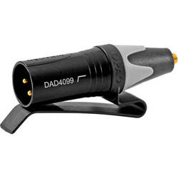DPA Microphones DAD4099-BC Micro-Dot to XLR with Belt Clip and Low-Cut Filter for 4099 Microphone
