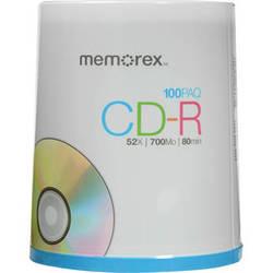 Memorex CD-R Discs (Spindle, 100-Pack)