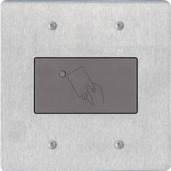 Aiphone HID-SS HID Proximity Reader Module for 2-Gang Entrance Panel