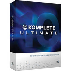 Native Instruments KOMPLETE 10 ULTIMATE Update - Virtual Instruments and Effects Collection