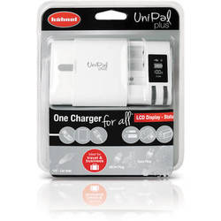 hahnel UniPal Plus Universal Charger for Li-Ion, Ni-MH, and Ni-Cd Batteries