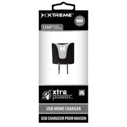 Xtreme Cables 1-Port 1A USB Home Charger (Black)
