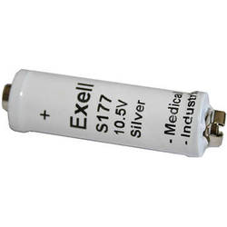 Exell Battery S177 Silver Oxide Battery (10.5V, 150mAh)