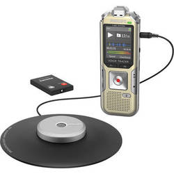Philips DVT8000 Voice Tracer Meeting Recorder with Room Mic and Remote Control