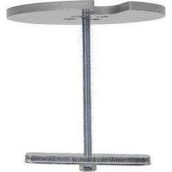 Chief Kontour KRA226 Center-of-Table Grommet Plate (Silver)