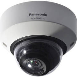 Panasonic 6 Series Super Dynamic Full HD Dome Network Camera with 2.8-10mm Lens (Sail White)