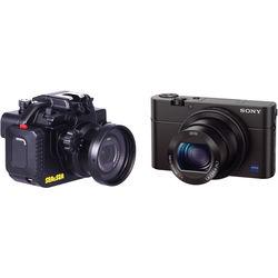 Sea & Sea MDX-RX100III Underwater Housing with Sony Cyber-shot DSC-RX100 III Camera Kit