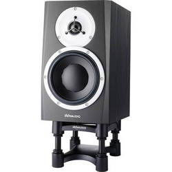 """Dynaudio Acoustics BM5 MKIII - 7"""" Two-Way Active Studio Monitor with IsoAcoustics Speaker Stand (Single)"""