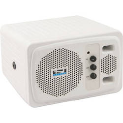 Anchor Audio AN-130F1+ Speaker Monitor with One Wireless Receiver (White)