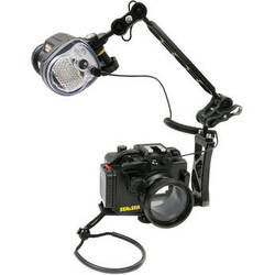 "Sea & Sea MDX-RX100III Underwater Housing Package with YS-01 Strobe and 8"" Ball Arm for Sony RX100 lll"