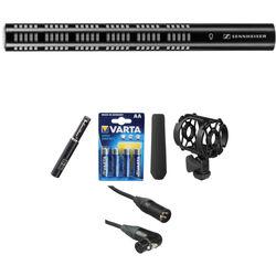 Sennheiser ME66/K6 - Super-Cardioid Short Shotgun Condenser Microphone Kit