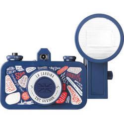 Lomography La Sardina The Guvnor Camera with Flash