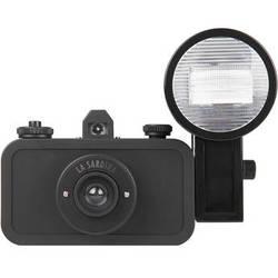 Lomography La Sardina DIY Black Edition Camera with Flash