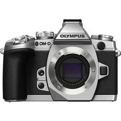 Olympus OM-D E-M1 Mirrorless Micro Four Thirds Digital Camera (Silver, Body Only)